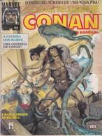 Portugal 1993 A Espada Selvagem De Conan O Bárbaro Wild Sword Conan The Barbarian L'épée Sauvage Le Barbare Marvel - Livres, BD, Revues