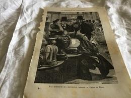 Les Merveilles De L Exposition  Vu Intérieur De L'exposition Chinoise Au Champ De Mars - Vieux Papiers