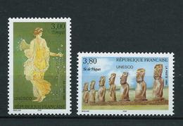 FRANCE 1998 . Service N°s 118 Et 119 . Neufs ** (MNH) . - Nuovi