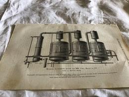 Les Merveilles De L Exposition Matériel De Sucreries Exposé Par Monsieur Cail  Dans La Section Belge - Vieux Papiers
