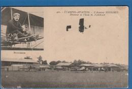 430 ETAMPES AVIATION L'AVIATEUR ROUGERIE DIRECTEUR DE L'ECOLE H. FARMAN - Piloten