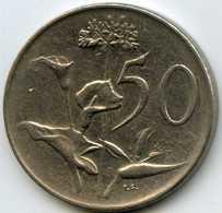 Afrique Du Sud South Africa 50 Cents 1966 KM 70.2 - Afrique Du Sud
