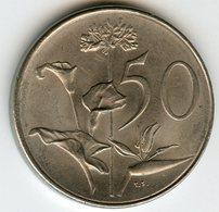 Afrique Du Sud South Africa 50 Cents 1977 KM 87 - Afrique Du Sud