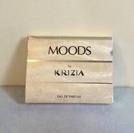"""Miniature """"MOODS"""" De KRIZIA Eaude Parfum E 6 Ml Dans Sa Boite Coffret - Miniatures Men's Fragrances (in Box)"""