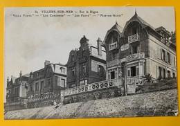 12134 - Villers-sur-Mer Sur La Digue Villa Verte Les Comorres, Les Flots, Marthe-Alice - Villers Sur Mer