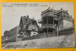12135 - Villers-sur-Mer Sur La Digue Villa Magda, Ancien Casino, Les Algues, Les Flots - Villers Sur Mer
