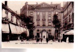 REF 484 :  CPA PARIS XII Hopital Saint Antoine - Paris (12)