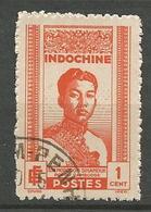 INDOCHINE  N° 224 OBL - Indochine (1889-1945)