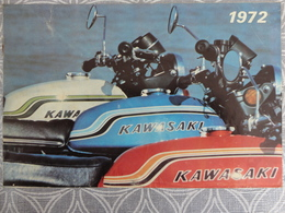PUBLICITE PROSPECTUS  KAWASAKI MOTOR CYCLE 8 PAGES  23.5 X 15.7 CM - Advertising