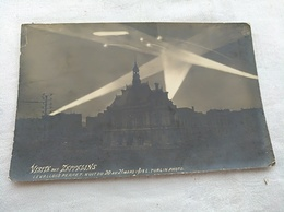 Visite Des Zeppelins Levallois Perret 1915 - Dirigeables
