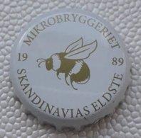 (LUXPT) - NO - L1- Capsula De Bouteille De Bière Mikrobryggeriet 1989  - Norvège - Bière