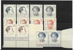 LUXEMBOURG - 1936 - MNH/*** LUXE - WENCESLAS I CARITAS - Yv 288-293 - Série X 2 - Neufs