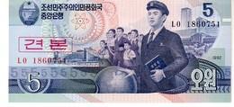 North Korea 5 Won 1992 - Korea, North