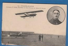 645 ETAMPES AVIATION L'AVIATEUR F. D'OR, CHEF PILOTE DE L'ECOLE FARMAN SUR BIPLAN H. FARMAN - Piloten