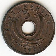Afrique Orientale Britanique East Africa 5 Cents 1963 KM 37 - Britse Kolonie