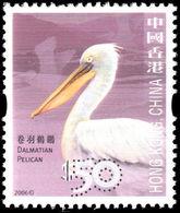 Hong Kong 2006-10 $50 Dalmatian Pelican Unmounted Mint. - Nuovi