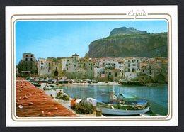 Italie - Sicile - CEFALU - Le Port - Bateaux , Filets De Pêche - CEF 48 - Ed. Enzo Amoroso - Andere Städte