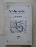 Saint-Maur-des-Fossés, Monographie Scolaire Illustrée, Henry Pouvereau, 1942 - Ile-de-France
