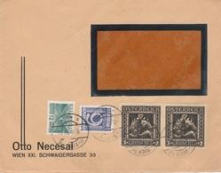 Austria Brief  8/II/ 1933  Gemengde Frankering  D1337 - Briefe U. Dokumente