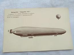 """Dirigeable """"Zeppelin III """" - Dirigeables"""