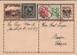 Austria  PK 25/I/1928  D1338 - Briefe U. Dokumente