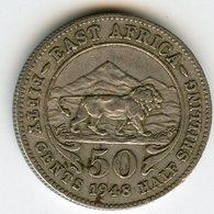 Afrique Orientale Britanique East Africa 50 Cents 1948 KM 30 - British Colony