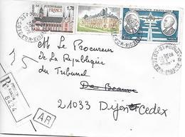 TIMBRES Sur LETTRE - Recommandé  1978 - France