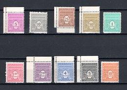 FRANCE  N° 620 à 629  NEUFS SANS CHARNIERE  COTE  39.50€    ARC DE TRIOMPHE   VOIR DESCRIPTION - 1944-45 Arc De Triomphe