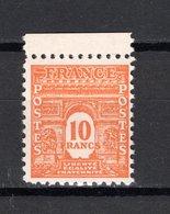 FRANCE  N° 629   NEUF SANS CHARNIERE  COTE 37.50€   ARC DE TRIOMPHE - 1944-45 Arc De Triomphe