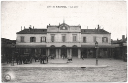 CPA DE CHARTRES  (EURE ET LOIR)  LA GARE - Chartres