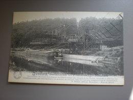 AUVELAIS - EMBARCADERE DES CHARBONNAGES ELISABETH 1913 - Sambreville