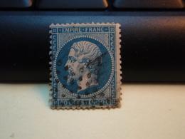 Timbre Napoléon III 20 C - EMPIRE FRANC  N° 22 Oblitéré. - 1862 Napoleon III