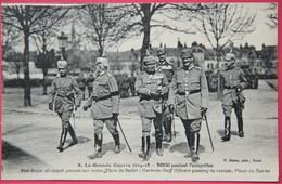 CPA WW1 NORD 59 DOUAI OCCUPATION ALLEMANDE PLACE DU BARLET - Guerre 1914-18