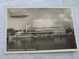 Friedrichshafen Am Bodensee Hafenbahnhof Zeppelin - Dirigeables