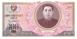 North Korea P.22 100 Won 1978 Unc - Korea, North