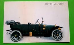 Cartolina - Fiat - Modello Zero - 1912 - Milano (Milan)