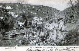 (142) CPA  Macedoine  La Fontaine De Daoud Baeylick  (bon Etat) - Macédoine