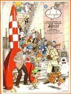 Blok 173** Kuifje In Het Stripmuseum Ongetand - Tintin Et La BD Feuille Non-Dentelée- Bloc 173 Imperforated - Imperforates