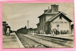 Plouharnel  La Gare Voyagée  En 1952 (cpsm) état - France