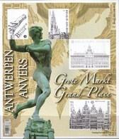 Belg. 2014 Grote Markt Antwerpen Ongetand Blok 219- Grand Marché Anvers ND - Imperforates