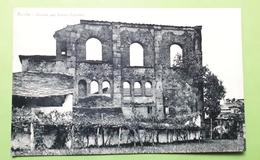 Cartolina - Aosta - Rovine Del Teatro Romano - 1940 Ca. - Italia