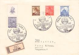 BÖHMEN & MÄHREN - RECO 11.1.1942 PRAG TAG DER BRIEFMARKE /ak782 - Böhmen Und Mähren