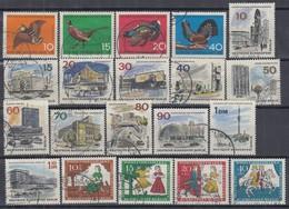 BERLIN Jahrgang 1965 Komplett Gestempelt, 250-269 - Used Stamps