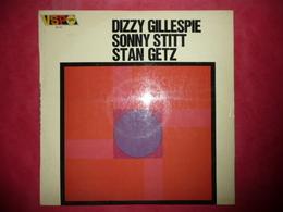 LP33 N°3038 - DIZZY GILLESPIE - SONNY STITT - STAN GETZ - 657 112 - DISQUE EPAIS VERVE - Jazz
