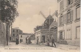 75018 - PARIS - Montmartre - Le Moulin De La Galette (Entrée Par La Rue Girardon) - Bar, Alberghi, Ristoranti