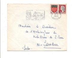 FLAMME 24 HEURES DU MANS 1966 - Mechanical Postmarks (Advertisement)
