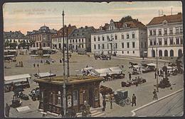 Jablonec Nad Nisou Gablonz An Der Neiße Alter Markt Ak Um 1910 - Sudeten