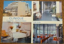 CARTE CLINIQUE FONDATION CLEMENT DREVON  - 21 - DIJON  - SCAN RECTO/VERSO - Dijon