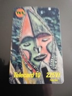 VANUATU  SERIE MASK 3 CARDS, 225VT,450VT,1800VT.     Fine Used    **941** - Vanuatu