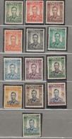 SOUTHERN  RHODESIA 1937 KGVI Definitive Set MNH(**)/MH(*) SG 40-52 Read #12974 - Rhodesia Del Sud (...-1964)